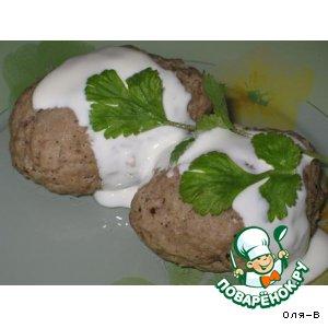Рецепт: Паровые биточки из телятины