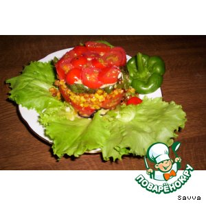 Рецепт: Овощой светофор