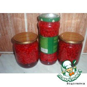 Рецепт: Красная смородина маринованная