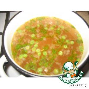 Рецепт: Быстрый овощной суп