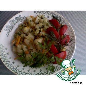 Рецепт: Летнее овощное рагу