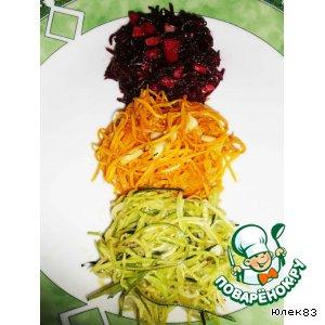"""Рецепт: """"Овощные спагетти"""""""