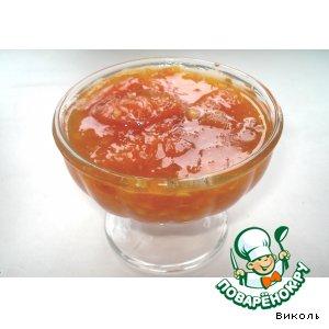 Рецепт: Абрикосово-апельсиновое варенье
