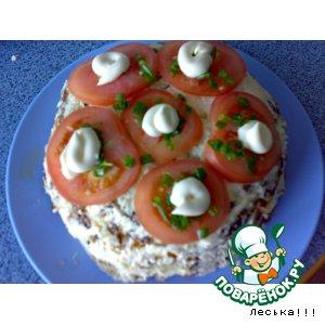 Рецепт: Закусочный торт