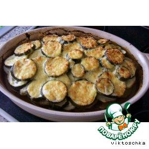 Рецепт: Мусака из кабачков