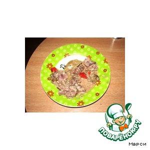 Рецепт: Куриные желудки в тиховарке