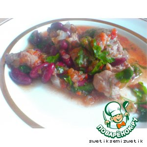 Рецепт: Мясо по-кавказски