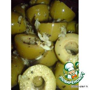 Рецепт: Маринованные оливки