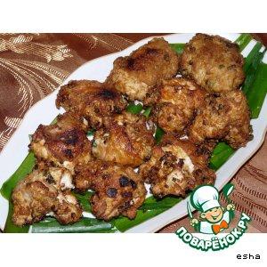 Рецепт: Жареная курица 600 лет до нашей эры