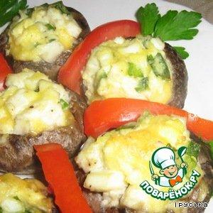 Рецепт: Горячая грибная закуска