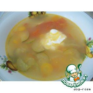 Рецепт: Овощной суп по-болгарски