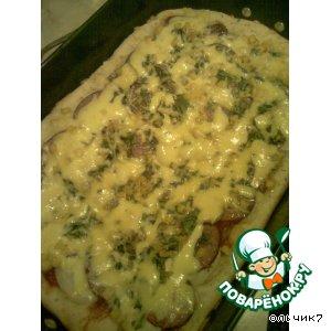 """Рецепт: Пицца """"Домашняя"""""""