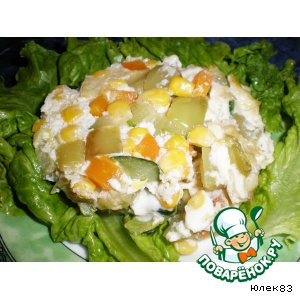Рецепт: Овощная яичница