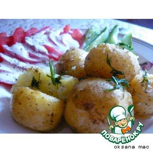 """Рецепт: Картошка """"Ленивая"""""""