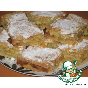 Рецепт: Пирог со сливами
