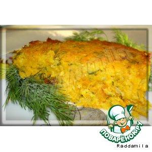 Рецепт: Морковная запеканка