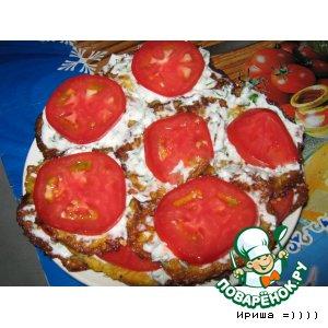 Рецепт: Закусочный торт из кабачков Слезы поваренка