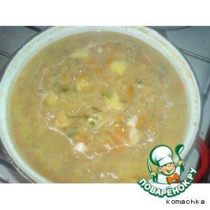 Рецепт: Картофельный суп