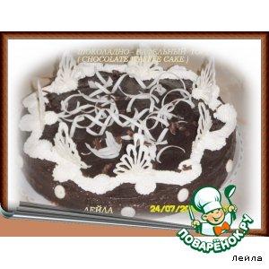Рецепт: Шоколадно-вафельный торт