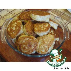 Рецепт: Оладушки от Эльзарушки