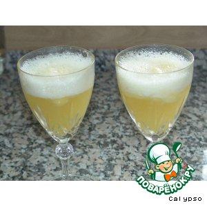 Рецепт: Ананасный пунш с шампанским
