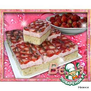 Клубничные пирожные