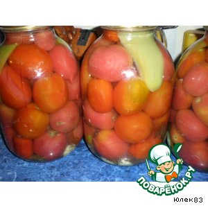 Рецепт: Сладкие помидоры