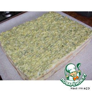 Рецепт: Пирог Закусочный