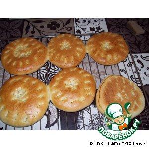 Рецепт: Лепeшки узбекские