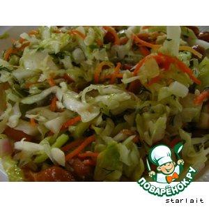 Рецепт: Капуста Нелин салат