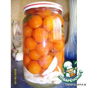 Рецепт: Маринованные помидоры Пальчики оближешь