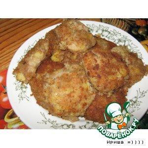Рецепт: Картофельные котлетки с сайрой