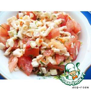 Рецепт: Салат «Весенний бриз»