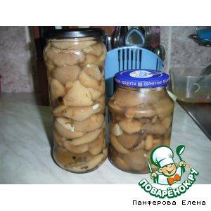 Рецепт: Маринованные маслята