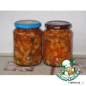 цветная капуста на зиму рецепты салат деликатесный