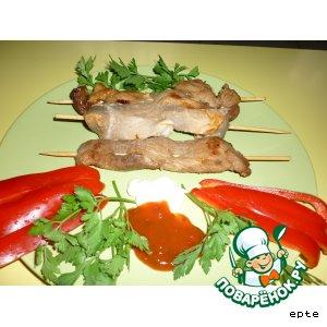 Рецепт: Шашлык из свинины