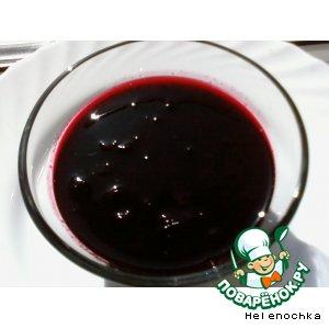 Рецепт: Желе из черной смородины