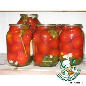 Рецепт: Консервированные помидоры