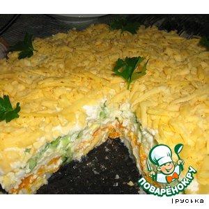 Рецепт: Торт овощной