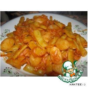Рецепт: Овощное каламуть