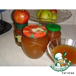 Рецепт: Яблочки Неженка