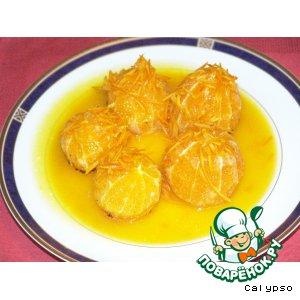 Рецепт: Апельсины фламбе