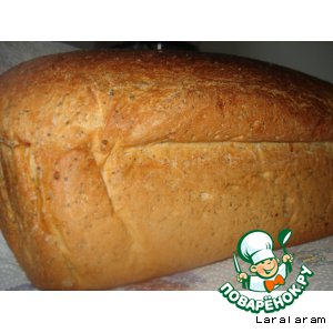 Рецепт: Хлеб с маком и цедрой к завтраку