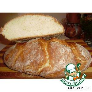 Рецепт: Домашний хлеб на кефире