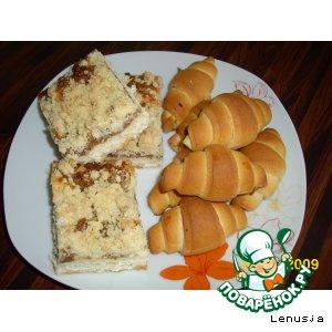 Рецепт: Пирог и рогалики