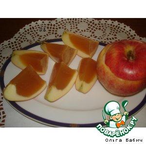 Десерт Волшебные яблочки