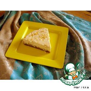 Рецепт: Лeгкий лимонный чизкейк