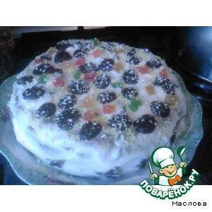 """Рецепт: Торт """" Изобилие вкуса"""""""