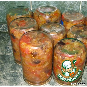 "Рецепт: Зимний салат ""Десяточка"""