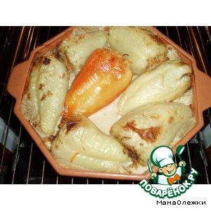 Рецепт: Перец, фаршированный печенью